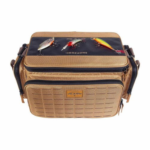Plano Guide Series 3700 Tackle Bag and Utility Storage Case with Magnetic Top Perspective: bottom
