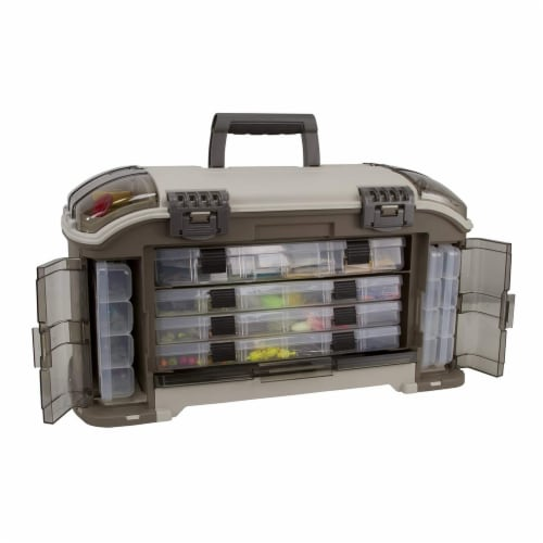 Plano Guide Series Angled StowAway Rack Fishing Tackle Box Storage Container Perspective: bottom