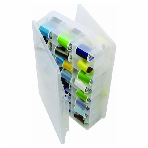 Creative Options® Double Sided Craft Carrier Storage Box Perspective: bottom