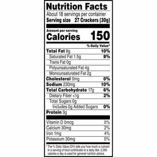 Cheez-It® Original Crackers Perspective: bottom