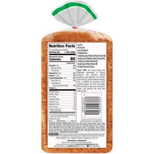 Lewis Bake Shop Half Loaf Nutty Oat Bread Perspective: bottom