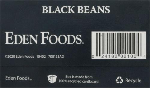 Eden Organic Dry Black Beans Perspective: bottom