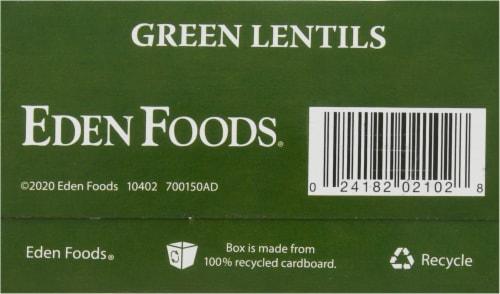 Eden Organic Green Lentils Perspective: bottom