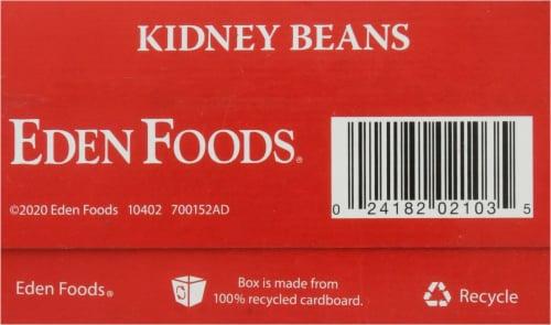 Eden Organic Dried Kidney Beans Perspective: bottom
