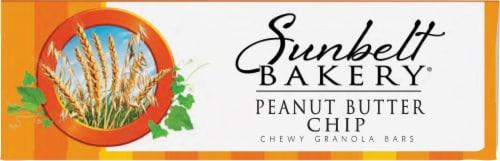 Sunbelt Bakery Peanut Butter Chip Chewy Granola Bars Perspective: bottom