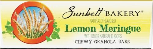 Sunbelt Bakery Natural Lemon Meringue Chewy Granola Bars Perspective: bottom