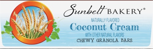 Sunbelt Bakery Natural Coconut Cream Chewy Granola Bars Perspective: bottom