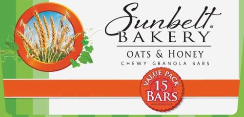 Sunbelt Bakery Oats & Honey Chewy Granola Bars Value Pack Perspective: bottom