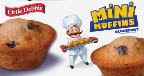 Little Debbie Blueberry Mini Muffins Perspective: bottom