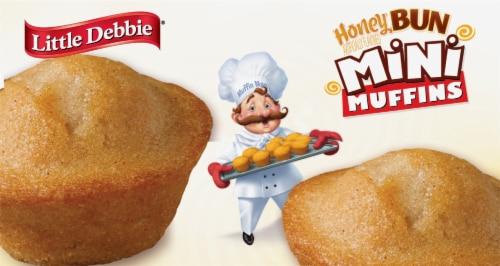 Little Debbie® Honey Bun Mini Muffins Perspective: bottom