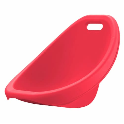 American Plastic Toys Scoop Rocker Chair - Red/Blue Perspective: bottom