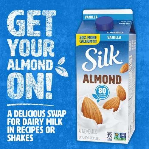 Silk Vanilla Almond Milk Perspective: bottom