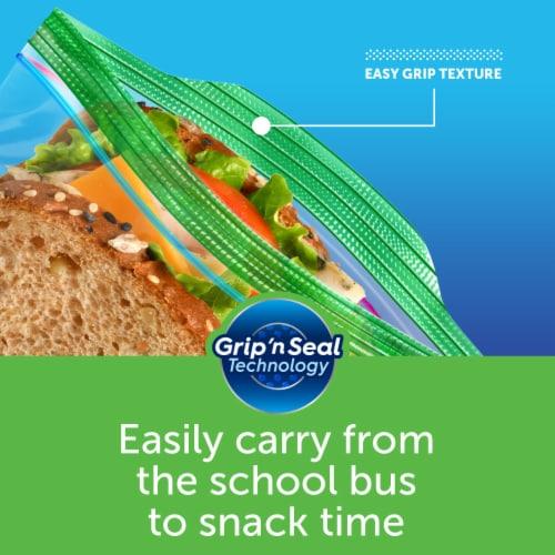 Ziploc Sandwich & Snack Lunch Pack Bags Perspective: bottom