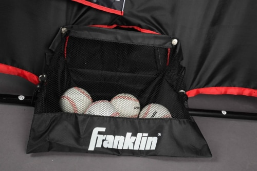 Franklin MLB 2 in 1 Switch Hitter Pitch Target and Return Trainer Perspective: bottom