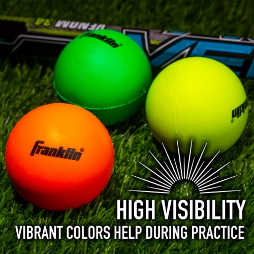 Franklin Youth Lacrosse Balls - 3 Pack Perspective: bottom