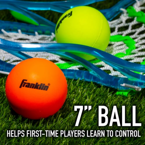 Franklin Youth Lacrosse Balls Perspective: bottom
