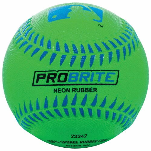 Franklin MLB Neon Rubber Teeball - Assorted Perspective: bottom