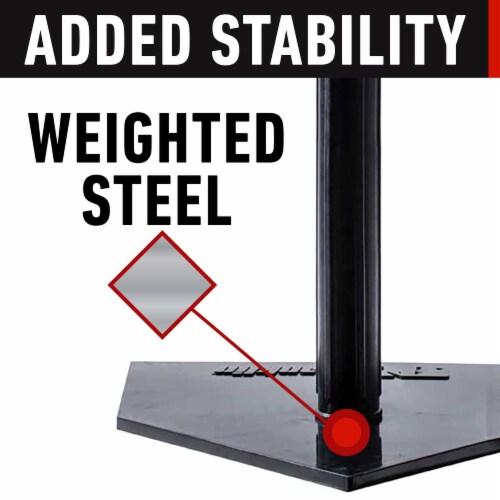 Franklin MLB® Heavy Duty Batting Tee - Black Perspective: bottom