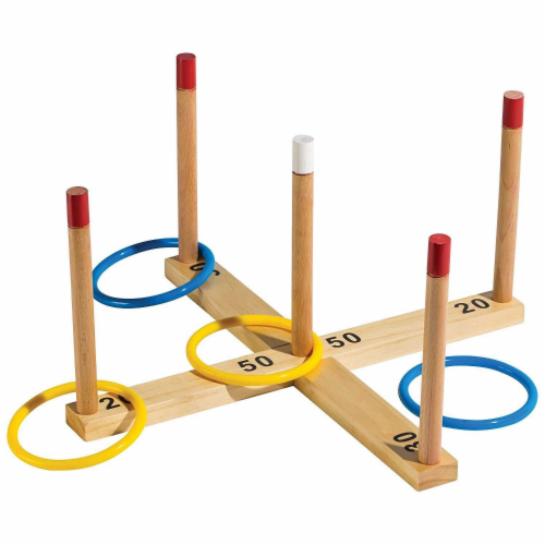 Franklin® Wooden Ring Toss Perspective: bottom