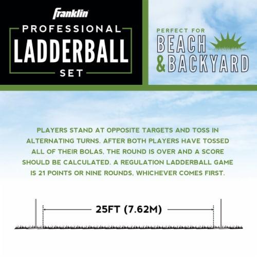 Franklin Professional Ladder Ball Set Perspective: bottom
