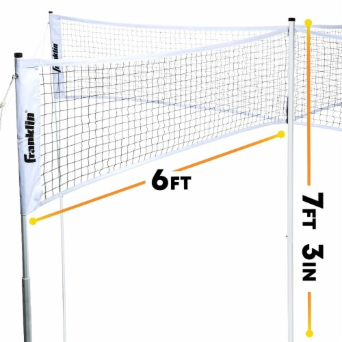 Franklin® Quad Volleyball Set Perspective: bottom