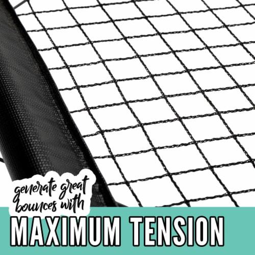Franklin® Steel Spyder Pong Perspective: bottom