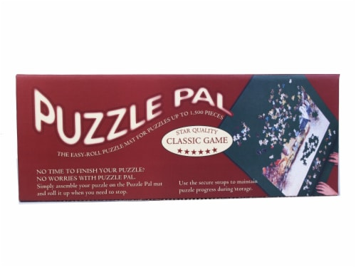 John Hansen Puzzle Pal Easy-Roll Puzzle Mat Perspective: bottom
