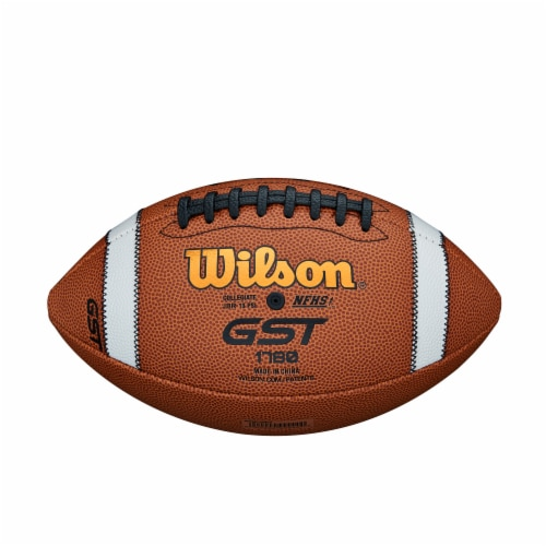 Wilson GST Composite Official Football Perspective: bottom