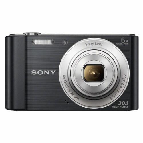 Sony Cyber-shot Dsc-w810 Digital Camera Black Perspective: bottom