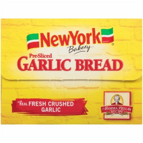 Nre York Bakery Homestyle Garlic Loaf Perspective: bottom