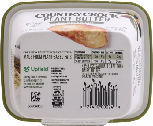 Country Crock Plant Butter Perspective: bottom