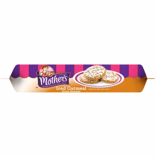 Mother's® Iced Oatmeal Cookies Perspective: bottom