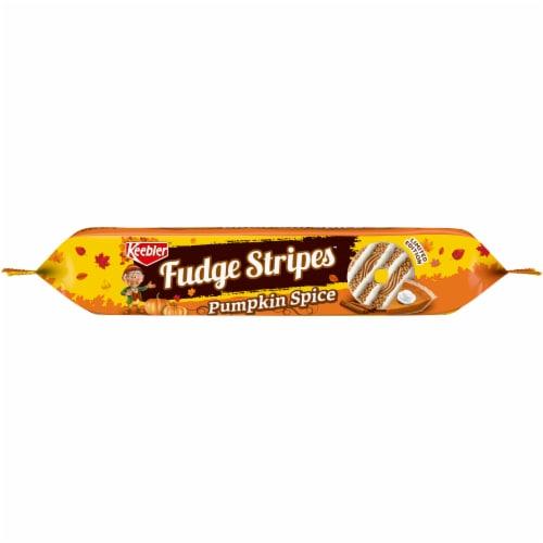 Keebler® Pumpkin Spice Fudge Stripes™ Cookies Perspective: bottom