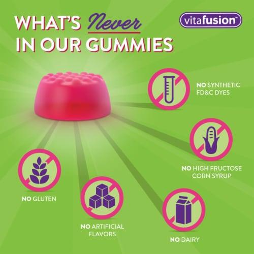 Vitafusion Calcium Gluten Free Gummy Vitamins 500mg Perspective: bottom
