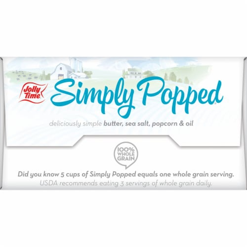 Jolly Time® Simply Popped® Microwave Popcorn Perspective: bottom