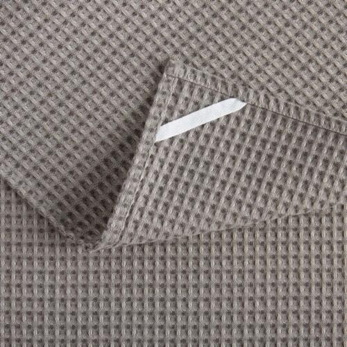 Martha Stewart Printed Iris Kitchen Towels - 3 Pack - Gray Perspective: bottom