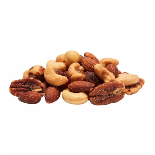 Nut Harvest® Deluxe Mixed Nuts Snacks Perspective: bottom