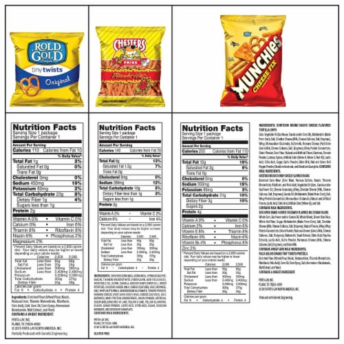 Ultimate Snack Care Package, Bundle of Chips, Cookies, Crackers & More, 40 Count Pack Perspective: bottom