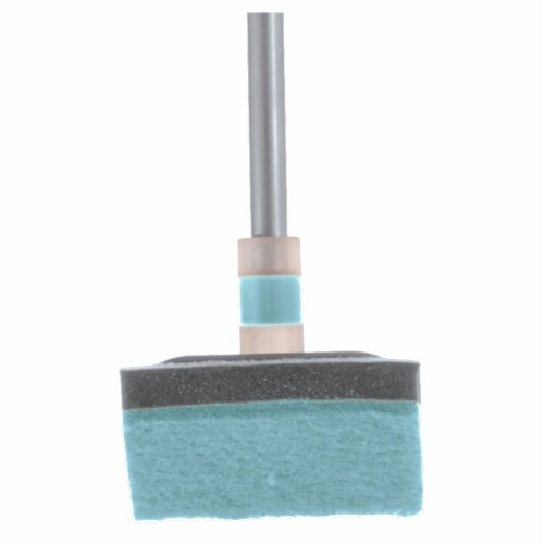 Casabella Extendable Bathroom Shower, Tub, and Tile Scrubber Sponge for Cleaning Perspective: bottom