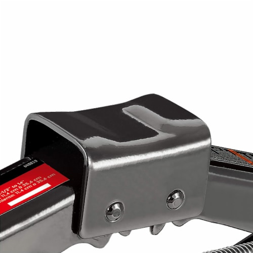Powerbuilt® 3000 Pound Scissor Jack for Tire Change Perspective: bottom