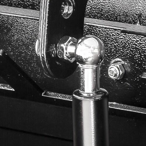 Powerbuilt Rapid Box Portable Slant Front Lockable Toolbox for Truck or Garage Perspective: bottom