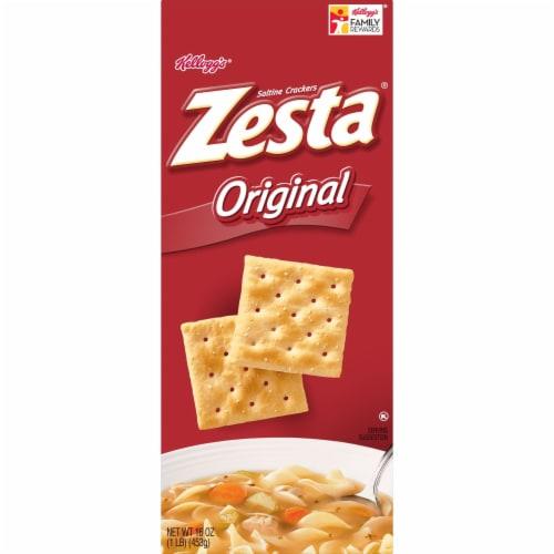 Zesta Saltine Crackers Original Perspective: bottom