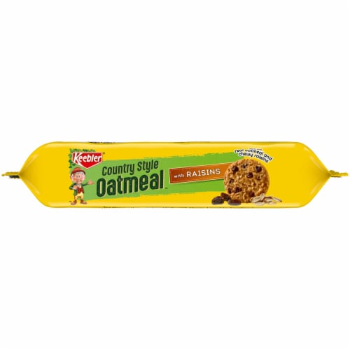 Keebler® Country Style Oatmeal Cookies with Raisins Perspective: bottom