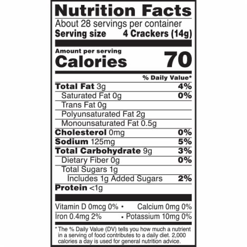 Kellogg's Club Original Crackers Perspective: bottom