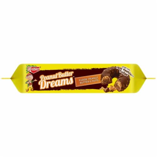 Keebler Peanut Butter Dreams Fudge Cookies Perspective: bottom