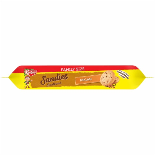 Keebler Sandies Pecan Shortbread Cookies Family Size Perspective: bottom