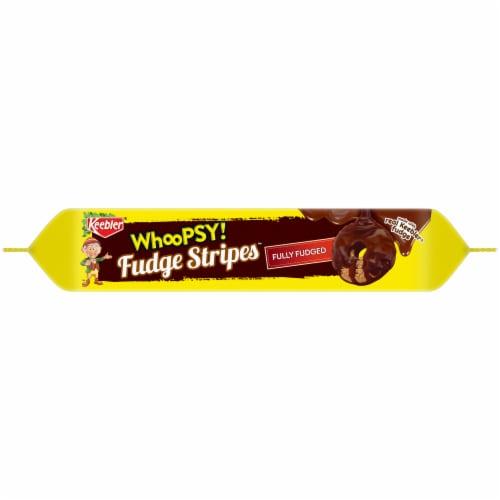 Keebler® Whoopsy! Fudge Stripes™ Fully Fudged Cookies Perspective: bottom
