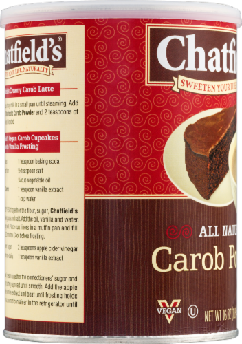 Chatfield's Carob Powder Perspective: bottom