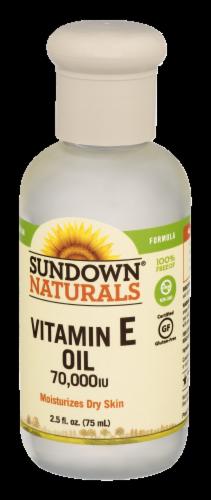 Sundown Naturals Vitamin E Oil 70000 IU Liquid Perspective: bottom