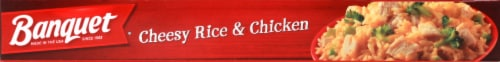 Banquet Cheesy Rice & Chicken Perspective: bottom
